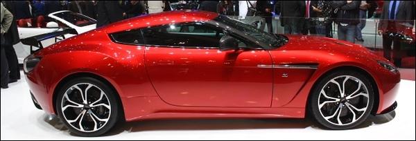 Geneve Aston Martin V12 Zagato