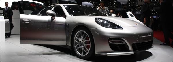Porsche Panamera GTS Geneva