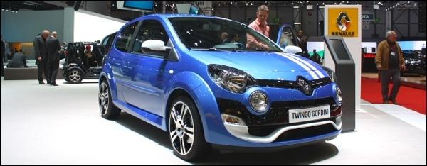 Geneve Renault Twingo RS
