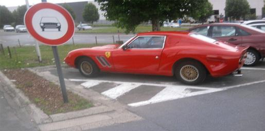 Ferrari 250 GTO gespot