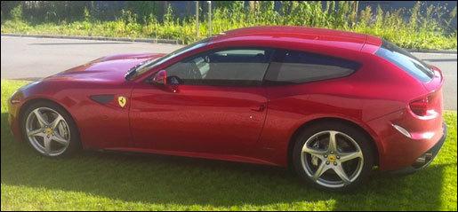 Ferrari FF gespot