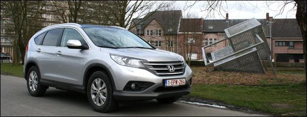 Honda Cr-V test 2013
