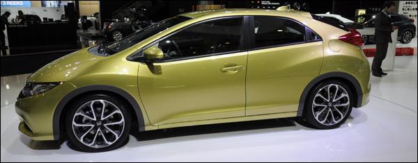 Honda autosalon Brussel Civic