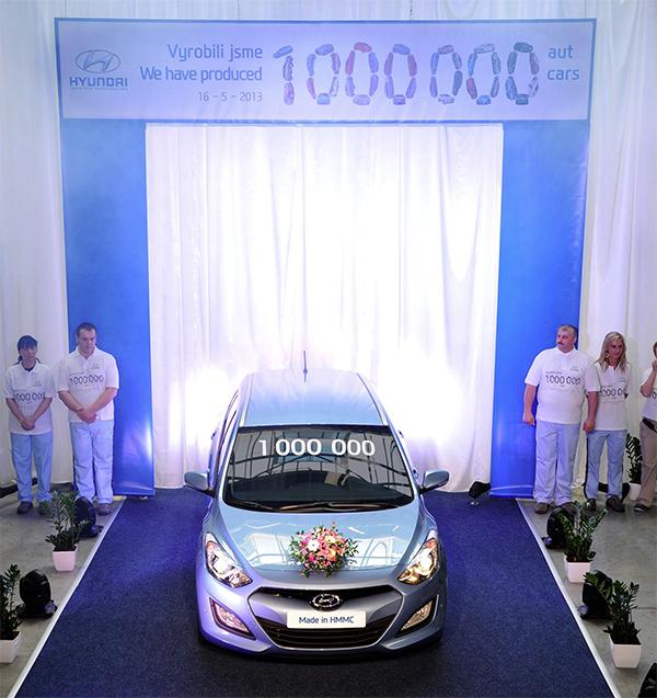 Nošovice Hyundai miljoen geproduceerde wagens