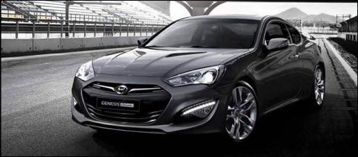 Hyundai Genesis Coupé Facelift