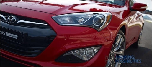 Gelekt Hyundai Genesis Coupe facelift
