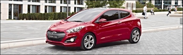 Hyundai i30 Driedeurs 2013