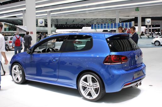 IAA VOlkswagen Golf R