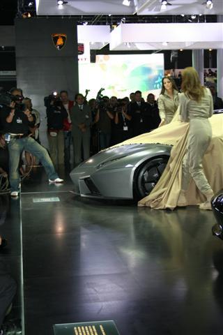 Onthulling Lamborghini Reventon