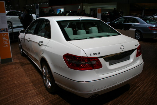 Mercedes E-klasse Sedan Geneva