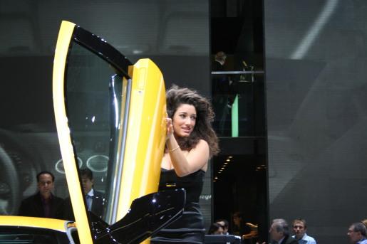Autosalon Geneve Geneva Babes