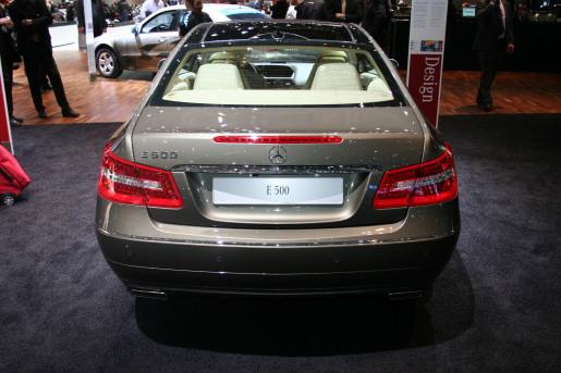 Mercedes E-klasse Coupe