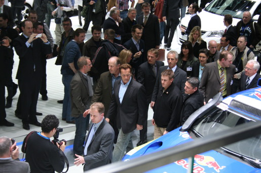 Arnold Schwarzenegger Volkswagen Polo Bluemotion