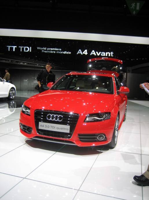 Audi A4 Avant Genève Geneva