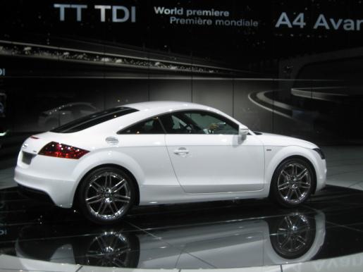 Audi TT TDI Genève Geneva