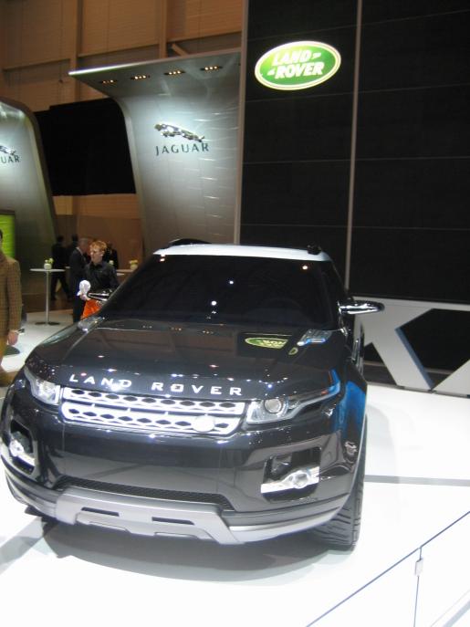 Land Rover LRX Genève Geneva