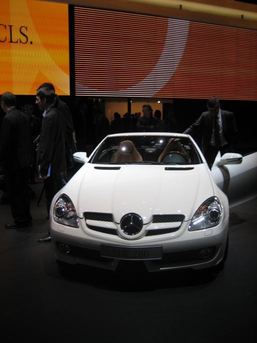 Mercedes SLK Facelift Genève Geneva