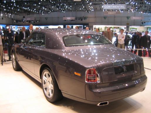 Rolls-Royce Phantom Coupé Genève Geneva