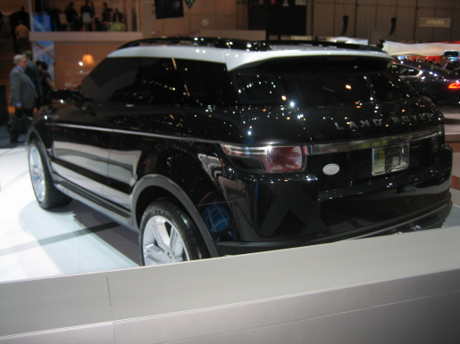 2008 Land Rover Lrx Geneva Concept Image collections - cars ...