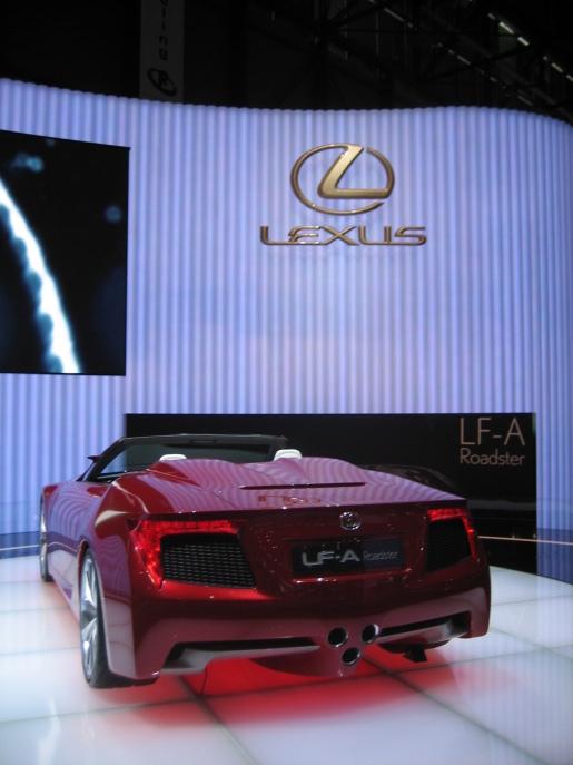 Lexus LF-A Roadster Genève Geneva
