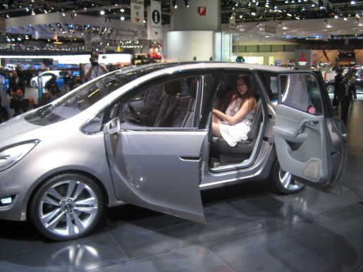 Opel Meriva Concept Genève Geneva