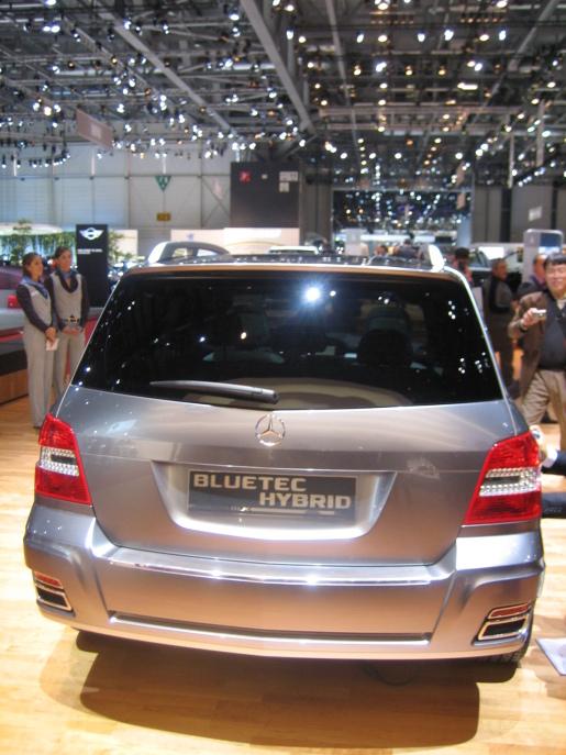 Mercedes GLK Bluetec-Hybrid Genève Geneva
