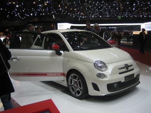 Fiat 500 Abarth Genève Geneva