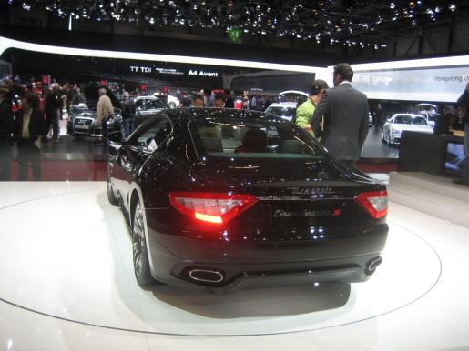 Maserati GranTurismo S Genève Geneva