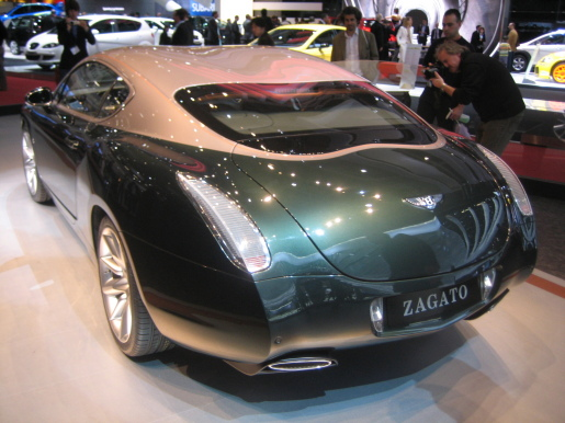 Bentley Continental Zagato GTZ Genève Geneva