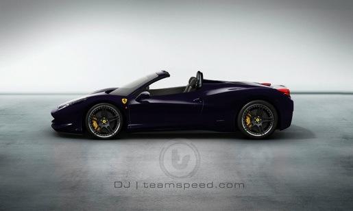 Impressie: Ferrari 458 Italia Spider