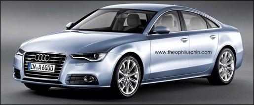 Nieuwe Audi A6 Impressie
