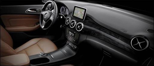 Nieuwe Mercedes B-Klasse Interieur