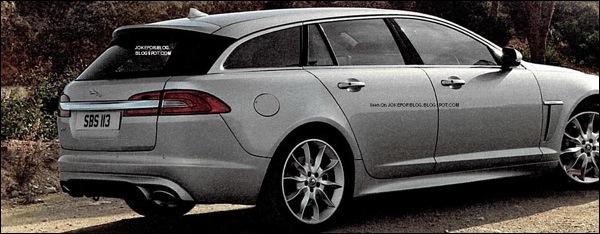 Jaguar XF Sportbrake 2012 Lek