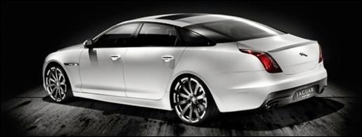 Jaguar XJ75 Platinum Concept XJR