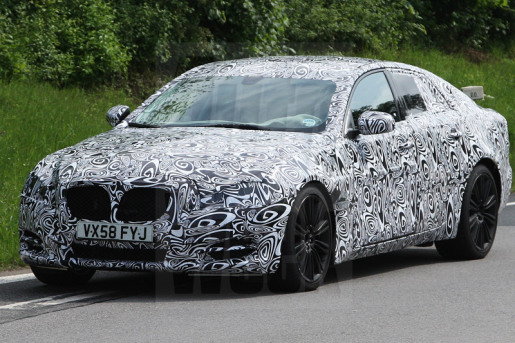 Jaguar XJ Spyshots