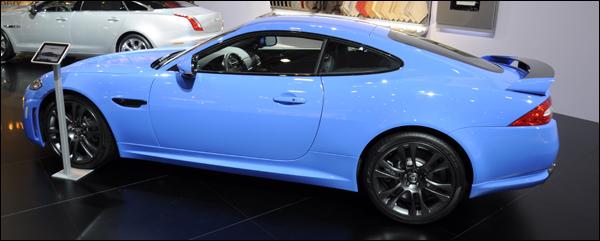 Jaguar XKR-S autosalon 2012
