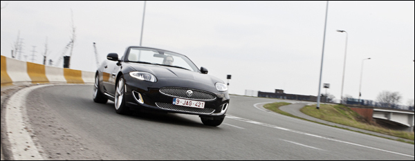 Jaguar XK Cabrio test