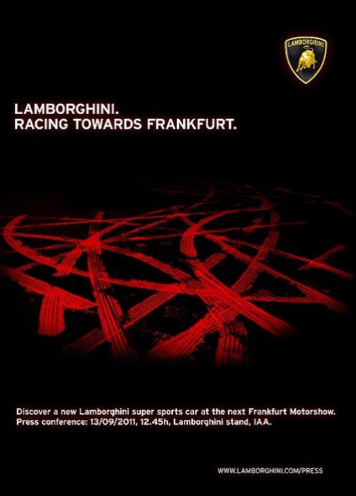 Lamborghini teaser IAA 2011 Frankfurt