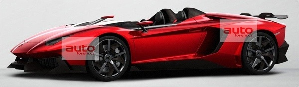 Lamborghini Aventador J Speedster Gelekt
