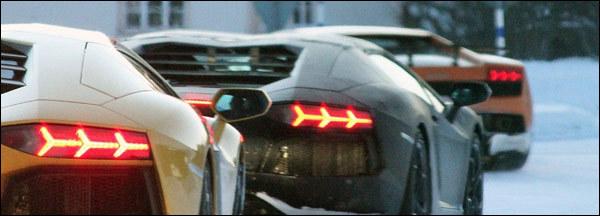 Lamborghini Aventador Roadster LP700-4 spyshots