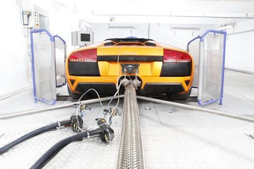 Lamborghini C02 reductie