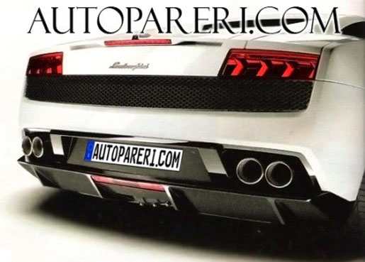 Lamborghini Gallardo LP550 Scan