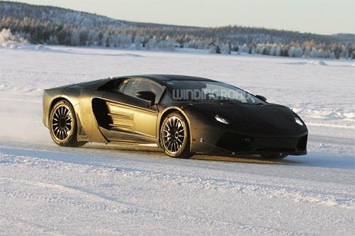 Lamborghini Jota spyshots