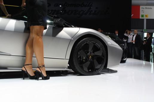 Autosalon Frankfurt 2009: Lamborghini Reventon Roadster