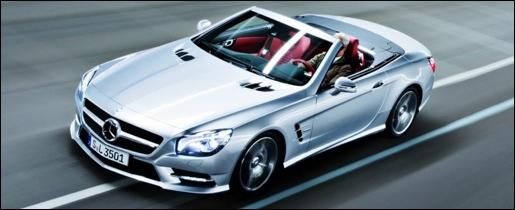 Nieuwe Mercedes SL 2012