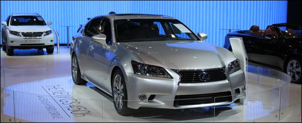Lexus GS450h Autosalon brussel