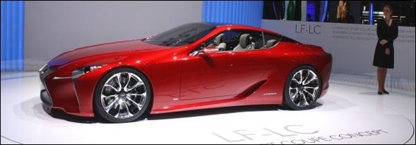 Geneve Lexus LF-LC Concept