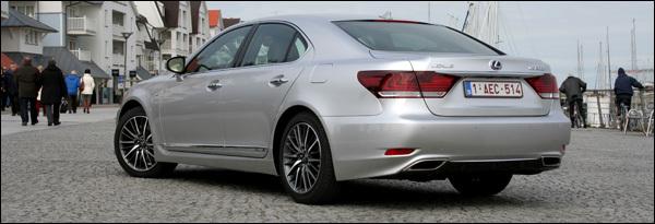 Lexus LS600h test 2013
