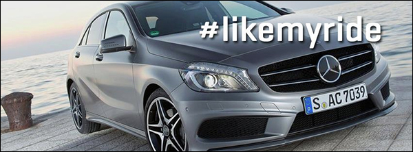 LikeMyRide Mercedes Hannes Coudenys