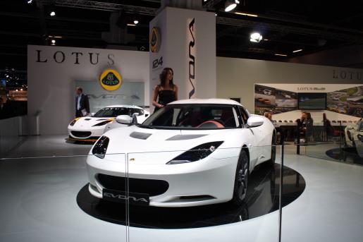 Lotus Evora IAA Autosalon Frankfurt 2009